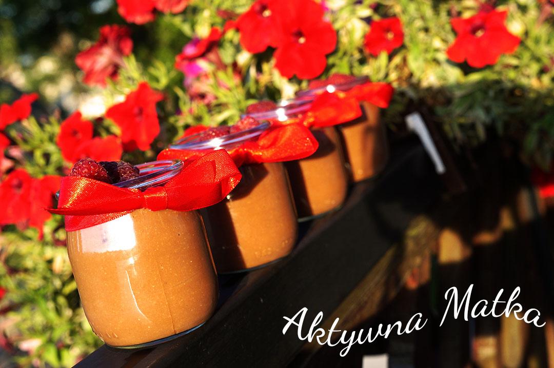 Pudding czekoladowy z kaszy jaglanej