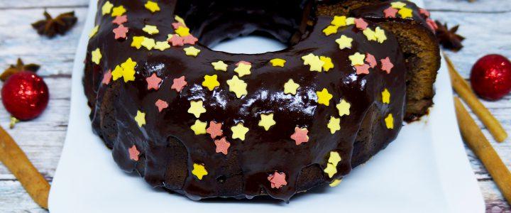 Dietetyczna babka piernikowa w czekoladzie